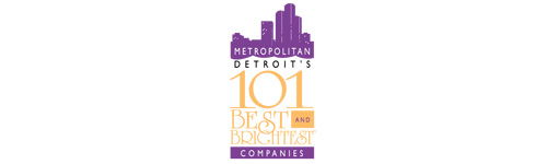 Rated one of Metropolitan Detroit's 101 Best and Brightest Companies!